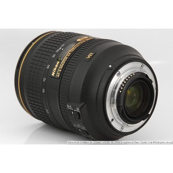 Nikon 24-120mm f/3.5-5.6G ED IF Autofocus VR Nikkor Zoom Lens (Discontinued by Manufacturer)