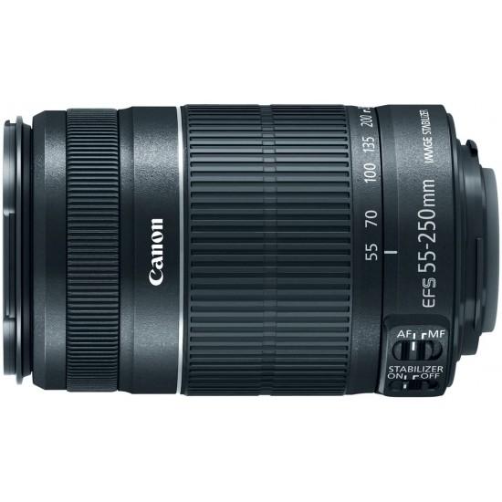 Canon EF-S 55-250mm f/4.0-5.6 IS II Telephoto Zoom Lens