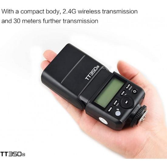 Godox TT350N TTL Flash Speedlite 2.4G Wireless GN36 1/8000s HSS for Nikon D800 D700 D7100 D7000 D5200 D5100 D810 D750 D610 DSLR Camera