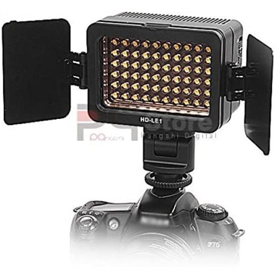 HD-LE1 LED Battery Video Light for CANON NIKON SONY Handycam DSLR camera