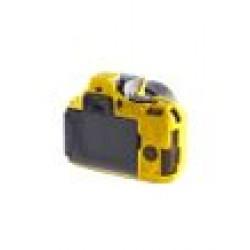 EasyCover Silicone Armor Skin Case Cover Protector for Nikon D5500 Camera - Yellow